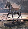 Noble Equestrian Horse~ Bronze Sculpture