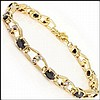 Black Sapphire, Diamond Bracelet