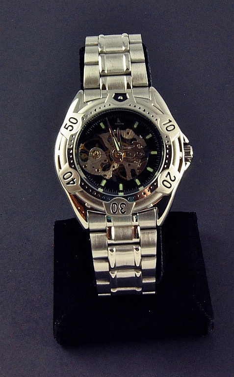 Men's Stainless  Wristwatch