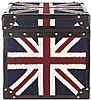 England Union Jack Square Trunk