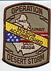 Desert Storm Mission Accomplished Military Patch