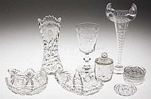 Group of 19th/20th c American Brilliant Cut Glass