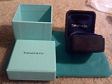 Vintage Tiffany and Co. ring box