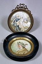 19th Century Continental School - Miniatures