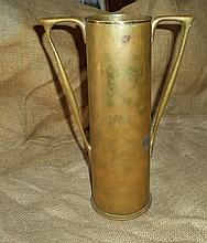 Vintage World War I Trench Art Vase