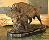 Massive Bronze Sculpture Buffalo - Bison
