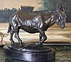 Donkey Bronze Sculpture