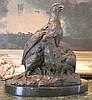 Brilliant Bronze Sculpture Partridges