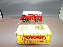 Matchbox Fire Engine 18