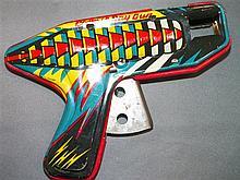 Tin Cosmic Ray Gun