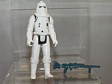 Star Wars Hoth Snowtrooper with Gun 1980