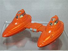 1980 Lucasfilm Ltd (LFL) Kenner Ohio Made in Hong Kong Star Wars Ship #39660