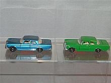 Two (2) Matchbox Series Mercedes 46 300 SE