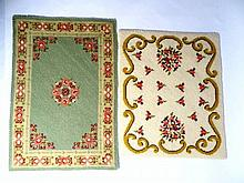 Two Petitpoint Rugs