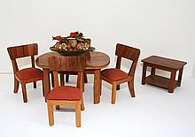Vintage German Doll Furniture