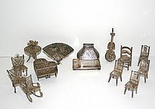 Silver Filigree Furniture