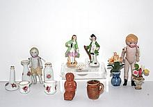 Vintage Dolls and Pottery