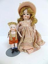 Two German Dolls