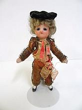 German Bisque Boy Doll