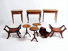 Artisan Tables and Benches