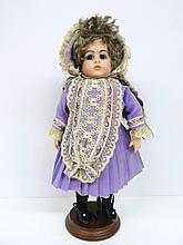 Contemporary Bisque Doll
