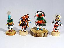 Ceremonial Southwest Kachina Dolls