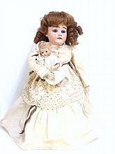 Bisque Thirteen inch Doll