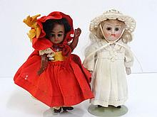 Two German Girl Dolls