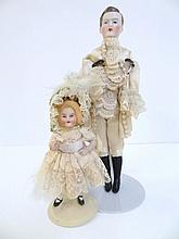 Two Dolls, Male and Girl