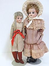 Two Girl Dolls