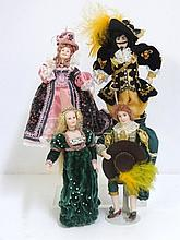 Historically Costumed Dolls