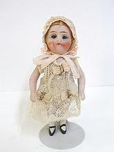 Bisque German Doll