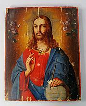 A Russian icon of Christ