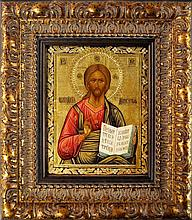 A Russian icon Christ Pancreater