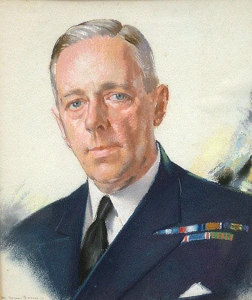 Hal Bevan-Petman, Scottish 1894-1980- Portrait of