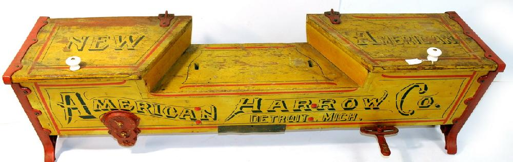 American Harrow Co. Grain Drill Box. 53