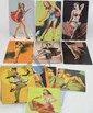 15 Risque Mutoscope cards very colorful