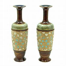 PAIR OF ENGLISH VASES LATE 19th CENTURY En