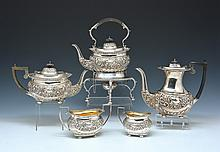 5 Piece English Sterling Tea and Coffee Service