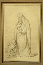 19th C Drawing