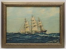Ship on the High Seas - Ralph McGuire