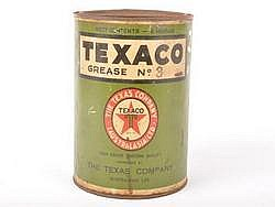 TIN Texaco Grease No. 3 Large Great Original