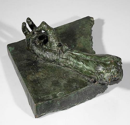 AUREL BORDENACHE (1902-1987. Rumanischer Bildhauer