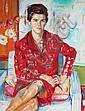 Harald Duwe, Portrait einer Dame. 1965.