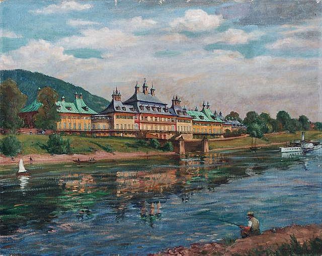 Otto Julius Fritzsche, Schloss Pillnitz. 1944.