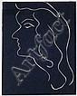 Henri Matisse, Weiblicher Kopf. 1947.