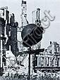 Hein Gorny, Stahlhelm vor Ruinen. 1945.