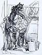Aldo Raimondi, Pferdestudie. No date.