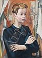 Irma Lang-Scheer(zugeschr.), Bildnis eines jungen Mannes. 1970's.