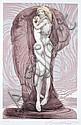 Ernst Fuchs, Genesis. No date.
